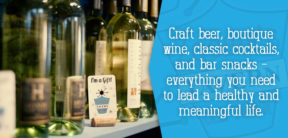 Craft Beer, Wine, Cocktails